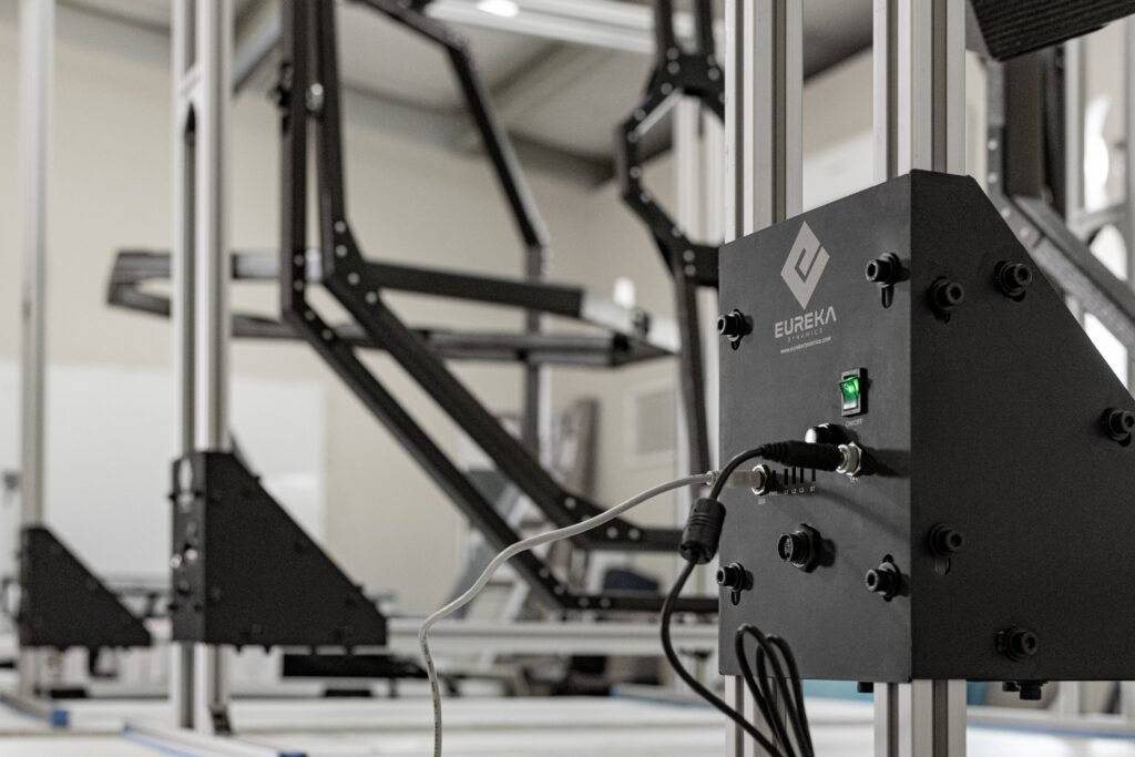 Testing system for UAV